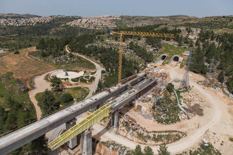 Tel Aviv- Jerusalem Rail Line
