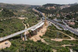 כביש 1 גשר מוצא